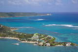 View of Mamora Bay and St. James Club Photographic Print by Frank Fell