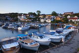 Marina at Dusk, Drobak, Akershus County, Follo District, Norway, Scandinavia, Europe Photographic Print by Douglas Pearson