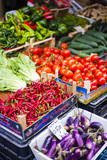 Chillies and Tomatoes for Sale at Capo Market Photographic Print by Matthew Williams-Ellis