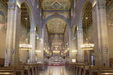 Interior of Basilica of St. Peter, Pecs, Southern Transdanubia, Hungary, Europe Photographic Print by Ian Trower