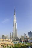 Burj Khalifa, Downtown, Dubai, United Arab Emirates, Middle East Photographic Print by Amanda Hall