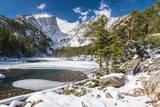 Bear Lake in Winter Fotodruck von Michael Nolan