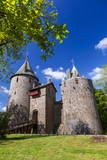 Castell Coch (Castle Coch) (The Red Castle), Tongwynlais, Cardiff, Wales, United Kingdom, Europe Photographic Print by Billy Stock