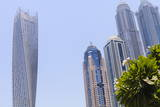Cayan Tower, Dubai Marina, Dubai, United Arab Emirates, Middle East Photographic Print by Amanda Hall