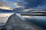 St. Andrews Harbour at Dawn, Fife, Scotland, United Kingdom, Europe Photographic Print by Mark Sunderland