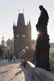Statues on Charles Bridge Photographic Print by Markus Lange