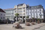 Hlavne Nam (Main Square), Bratislava, Slovakia, Europe Photographic Print by Ian Trower