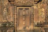 Bas-Relief at Banteay Srei Temple in Angkor Reprodukcja zdjęcia autor Michael Nolan