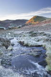 Crabtree Beck Running Down Loweswater Fell in the Lake District National Park Photographic Print by Julian Elliott