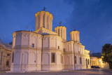 Patriarchal Cathedral at Dusk, Bucharest, Romania, Europe Photographic Print by Ian Trower