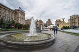 Maidan Nezalezhnosti Center of Kiev (Kyiv), Ukraine, Europe Photographic Print by Michael Runkel