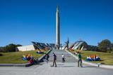 Hero City Obelisk, Pieramohi Park, Minsk, Belarus, Europe Photographic Print by Michael Runkel