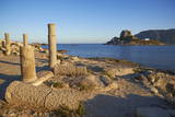Agios Stefanos Church Ruins, Kefalos Bay, Kos, Dodecanese, Greek Islands, Greece, Europe Photographic Print by Tuul