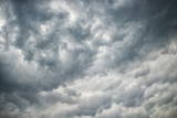 Mammatus or Mammatocumulus Clouds Form Photographic Print by Louise Murray
