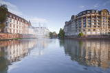 Quai Saint Etienne and the River Ill, Strasbourg, Bas-Rhin, Alsace, France, Europe Photographic Print by Julian Elliott