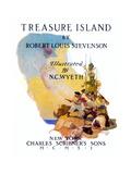 Treasure Island, 1911 Giclée-tryk af Newell Convers Wyeth