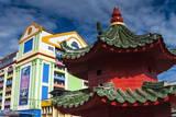 Tua Pek Kong Chinese Temple, Kuching, Sarawak, Malaysian Borneo, Malaysia, Southeast Asia, Asia Photographic Print by Nico Tondini
