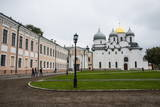 Cathedral of St. Sophia, UNESCO World Heritage Site, Novgorod, Russia, Europe Photographic Print by Michael Runkel