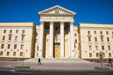 Goverment Building in Minsk, Belarus, Europe Photographic Print by Michael Runkel