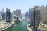 Dubai Marina, Dubai, United Arab Emirates, Middle East Photographic Print by Amanda Hall