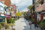 Jalan Stapok Street, Kuching, Sarawak, Malaysian Borneo, Malaysia, Southeast Asia, Asia Photographic Print by Nico Tondini