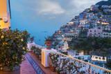Positano, Amalfi Peninsula, UNESCO World Heritage Site, Campania, Italy, Mediterranean, Europe Reproduction photographique par Angelo Cavalli