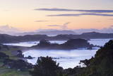 Idyllic Northland Coastline Illuminated at Sunset, Northland, North Island, New Zealand, Pacific Photographic Print by Douglas Pearson