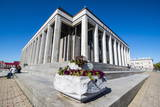 Palace of the Republic, Minsk, Belarus, Europe Photographic Print by Michael Runkel