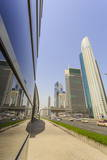 Sheikh Zayed Road, Dubai, United Arab Emirates, Middle East Photographic Print by Amanda Hall