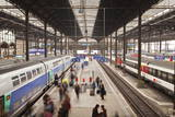 A Busy Basel Sbb Railway Station, Basel, Switzerland, Europe Photographic Print by Julian Elliott