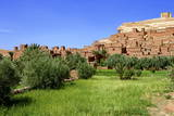 Kasbah, Ait-Benhaddou, UNESCO World Heritage Site, Morocco, North Africa, Africa Photographic Print by Simon Montgomery