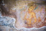 Apsara Frescoes Photographic Print by Matthew Williams-Ellis