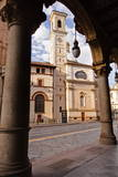 The Church of San Tommaso Apostolo, Turin, Piedmont, Italy, Europe Photographic Print by Julian Elliott