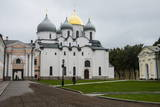Cathedral of St. Sophia, Kremlin of Novgorod, UNESCO World Heritage Site, Novgorod, Russia, Europe Photographic Print by Michael Runkel