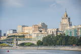 Moscow Seen from a River Cruise Along the Moskva River (Moscow River), Moscow, Russia, Europe Photographic Print by Michael Runkel