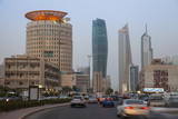 City Center Buildings, Kuwait City, Kuwait, Middle East Photographic Print by Jane Sweeney