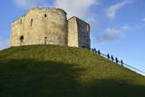 Cliffords Tower, York Castle Keep, York, Yorkshire, England, United Kingdom, Europe Photographic Print by Peter Richardson