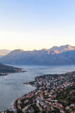 Kotor at Dawn, Bay of Kotor, UNESCO World Heritage Site, Montenegro, Europe Photographic Print by Charlie Harding