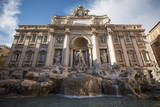 Trevi Fountain, Rome, Lazio, Italy, Europe Fotografisk tryk af Ben Pipe