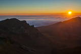 Sunrise Above Haleakala National Park, Maui, Hawaii, United States of America, Pacific Photographic Print by Michael Runkel