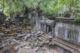 Beng Mealea Temple Photographic Print by Michael Nolan