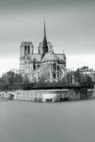 Notre Dame Cathedral on the River Seine, Paris, Ile De France, France, Europe Photographic Print by Markus Lange