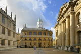 The Clarendon Building Photographic Print by Peter Richardson