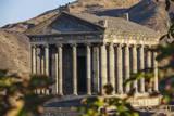 Garni Temple, Garni, Yerevan, Armenia, Central Asia, Asia Photographic Print by Jane Sweeney