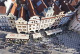 Rooftops, Old Town Square (Staromestske Namesti), Prague, Bohemia, Czech Republic, Europe Photographic Print by Markus Lange