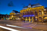 Central Station at Dusk, Drottningtorget, Gothenburg, Sweden, Scandinavia, Europe Photographic Print by Frank Fell