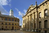 The Clarendon Building and Sheldonian Theatre, Oxford, Oxfordshire, England, United Kingdom, Europe Photographic Print by Peter Richardson