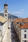 Dubrovnik Old Town, UNESCO World Heritage Site, as Viewed from the Famous City Walls Photographic Print by Charlie Harding