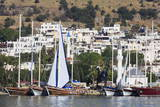 Yacht Marina, Bodrum, Anatolia, Turkey, Asia Minor, Eurasia Photographic Print by Richard Cummins
