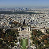 Trocadero, La Defense in the Background, Paris, Ile-De-France, France, Europe Photographic Print by Karl Thomas